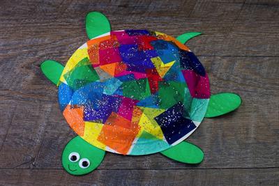 Sea Turtle Paper Plate Craft