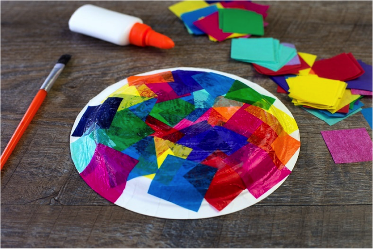 Sea Turtle Paper Plate Craft Supplies