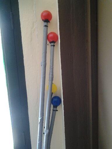 Target poles