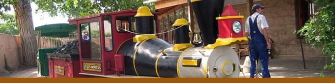 Thunderbird Express Zoo Train