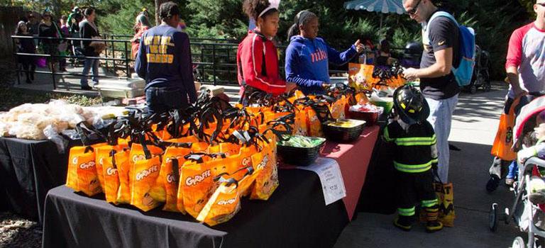 Zoo Boo candy bags.