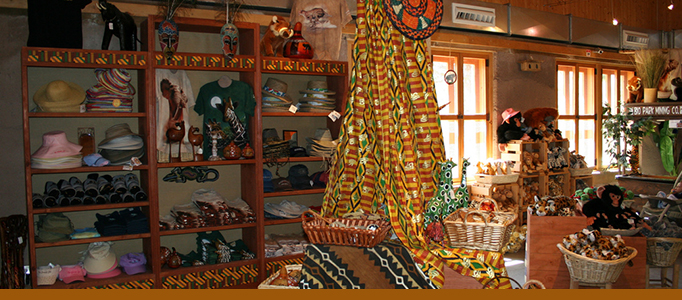 out of africa gift shop