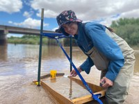 ABQ BioPark Aquatic Conservation Facility Collects more than 100,000 Silvery Minnow Eggs this Spring