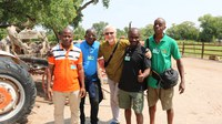 Ivory Coast Zookeepers Visit ABQ BioPark