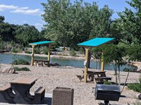 Renovations to Seating and Shade at Tingley Beach