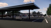 Solar Panel Installation in the Zoo Parking Lot