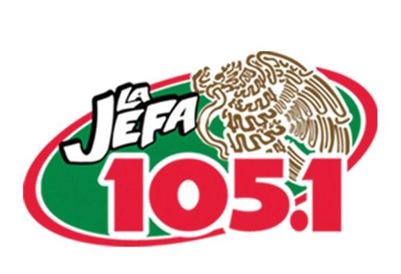 La Jefa 105.1 logo