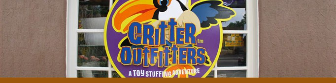 Critter Outfitters banner