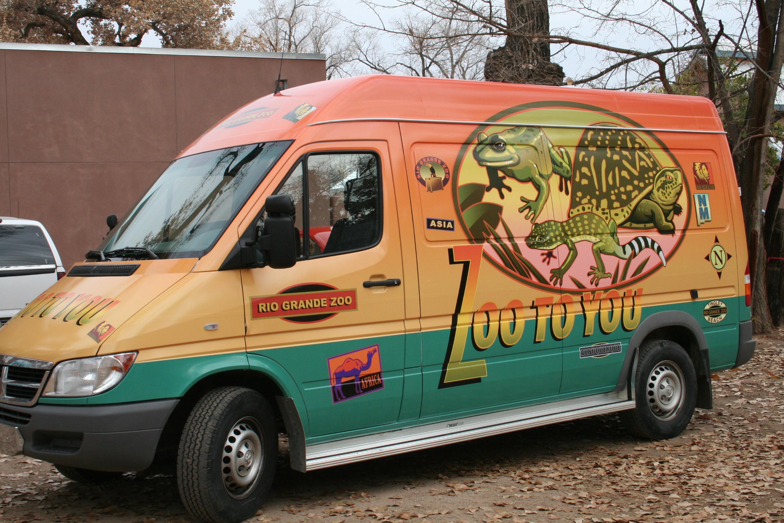 Zoo to You Van