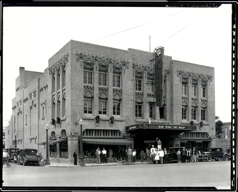 KiMo Theatre - c. 1930 png