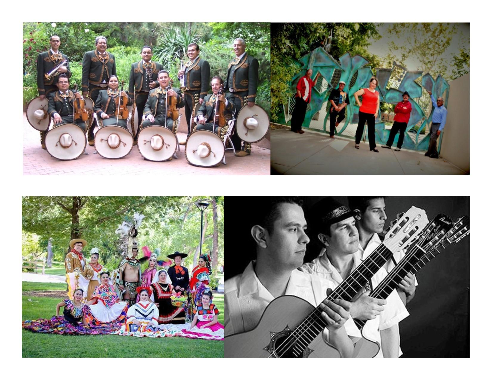 2017 Salsa Fiesta Entertainment Collage