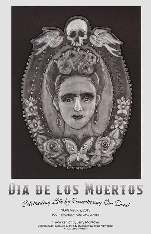 2019 Dia de los Muertos SBCC - Poster