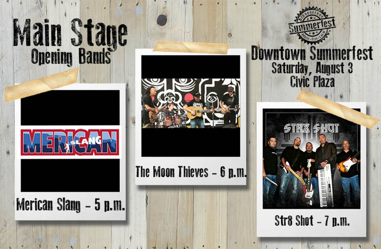 2019 Downtown Summerfest - Opening Bands Main Stage