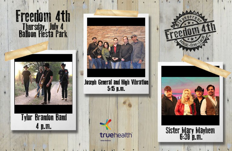 2019 Freedom 4th Opening Bands