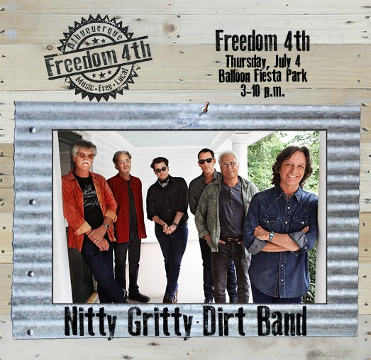 2019 Freedom 4th - Nitty Gritty Dirt Band on Wood
