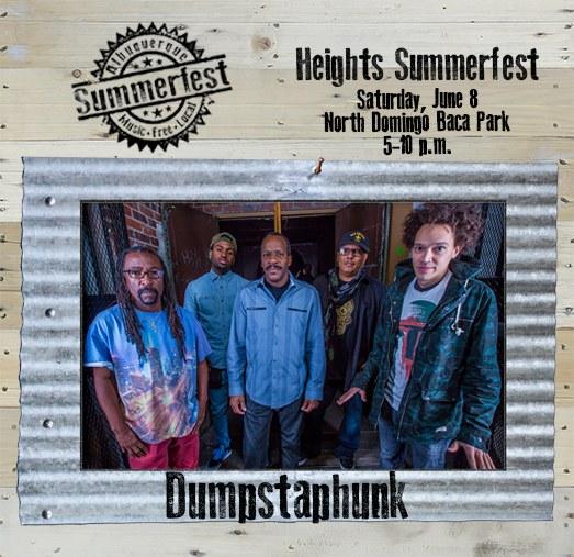 2019 Heights Summerfest - Dumpstaphunk on Wood