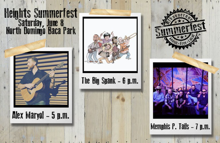 2019 Heights Summerfest  - Opening Bands