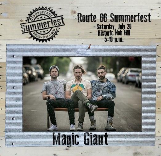 2019 Route 66 Summerfest - Magic Giant on Wood