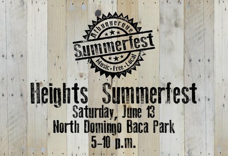 2020 Heights Summerfest - Placeholder