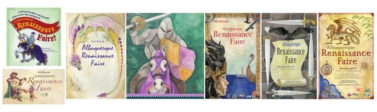 2020 Renaissance Faire - Poster Collage