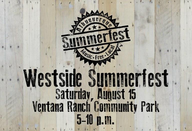 2020 Westside Summerfest - Placeholder