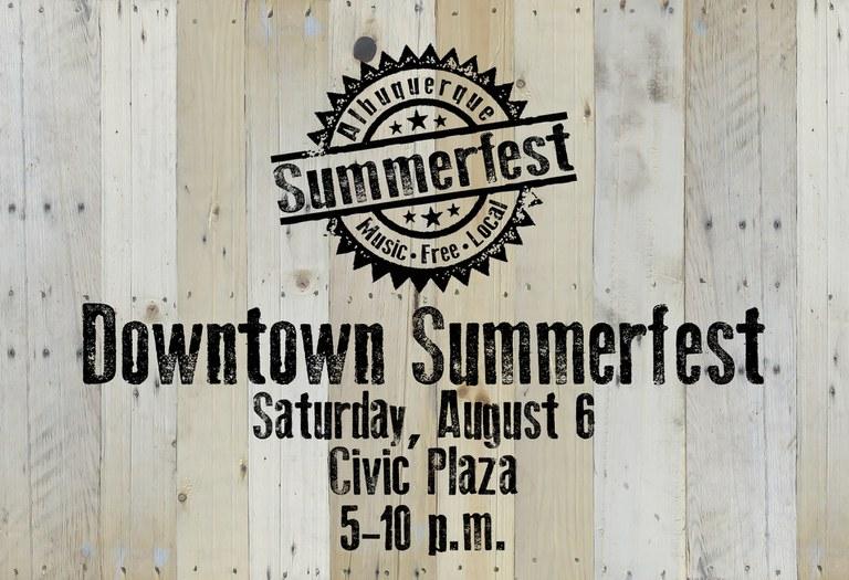2022 Downtown Summerfest - Placeholder