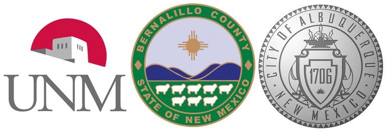 UNM-Bernco-COA logos