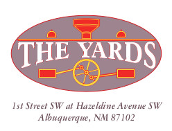 Logo for The Yards, the former ATSF Railway yards in Albuquerque.
