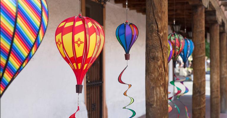 Balloon Fiesta Week in Old Town 2