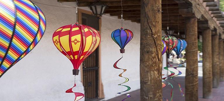 Balloon Fiesta Week Old Town