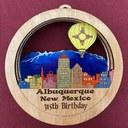 Blue Portal - Albuquerque Ornament