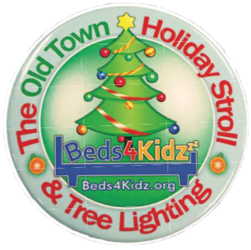 2019 Holiday Stroll Button Logo