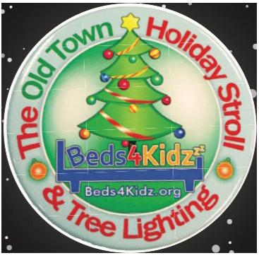 2019 Holiday Stroll Button Logo