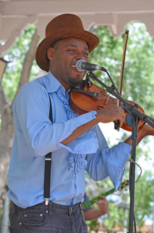 Fiddler on Gazebo