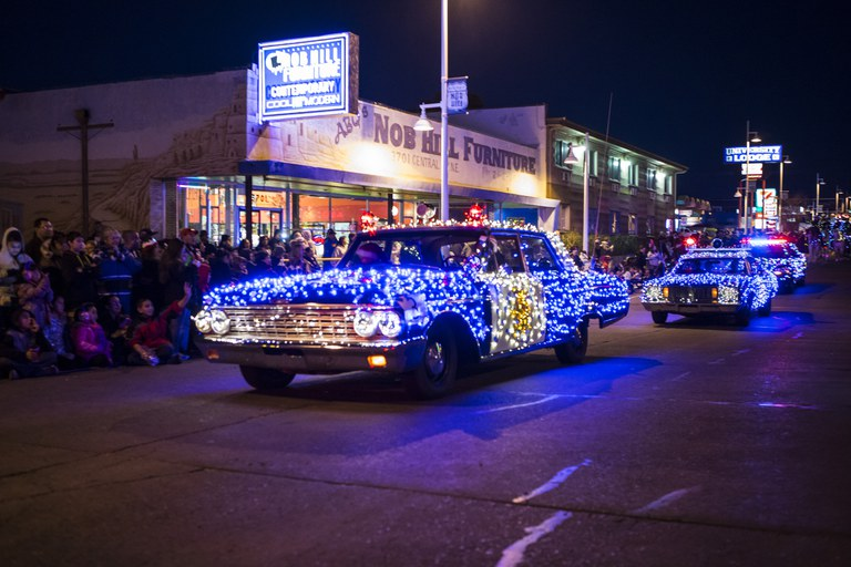 Twinkle Light Parade Cops
