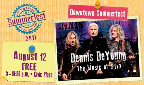 2017 Downtown Summerfest DeYoung