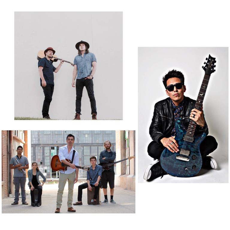 2017 Downtown Summerfest Entertainment Collage