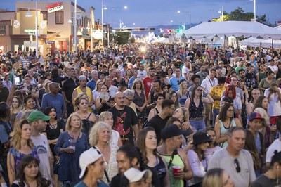 Route Summerfest Crowd