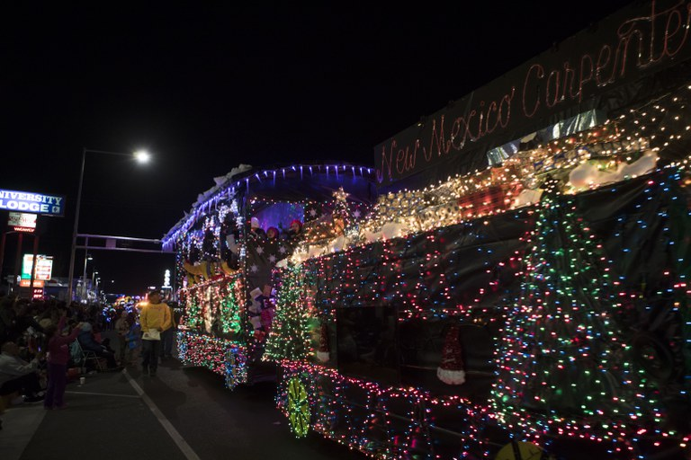 2018 Twinkle Light Parade - SW Carpenters
