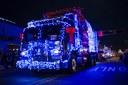 Twinkle Light Parade Trash Truck