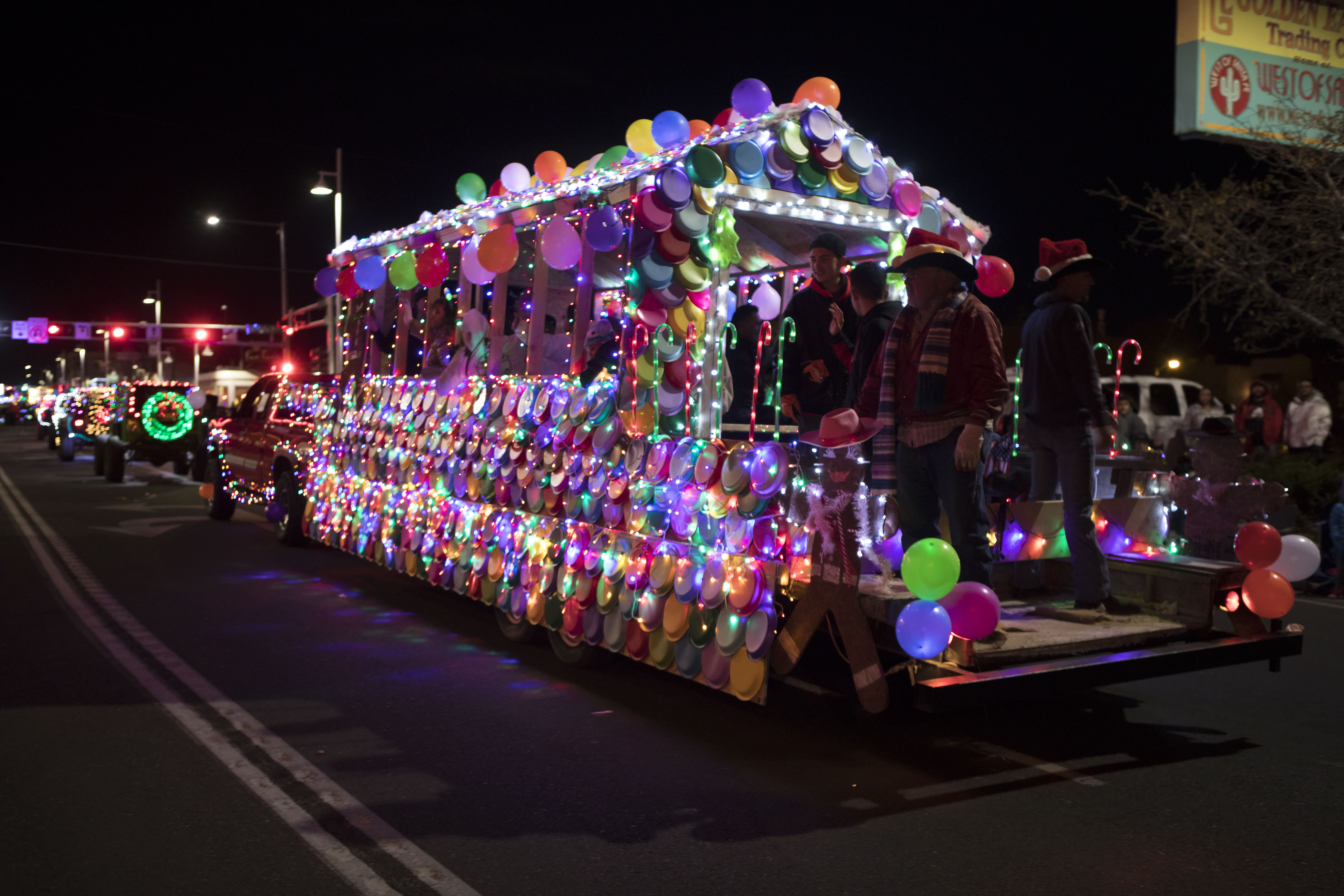 2018 Twinkle Light Parade - First Impressions Rodeo Club