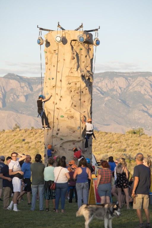 2019 Westside Summerfest - Climbing Wall