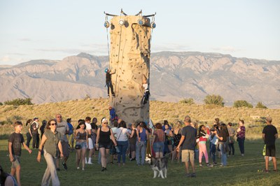 Westside Summerfest Climbing Wall