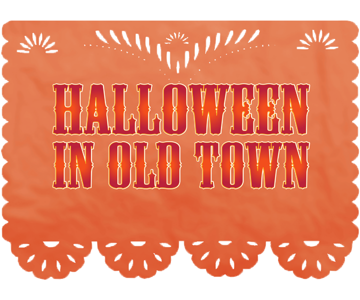 Halloween in Old Town Logo