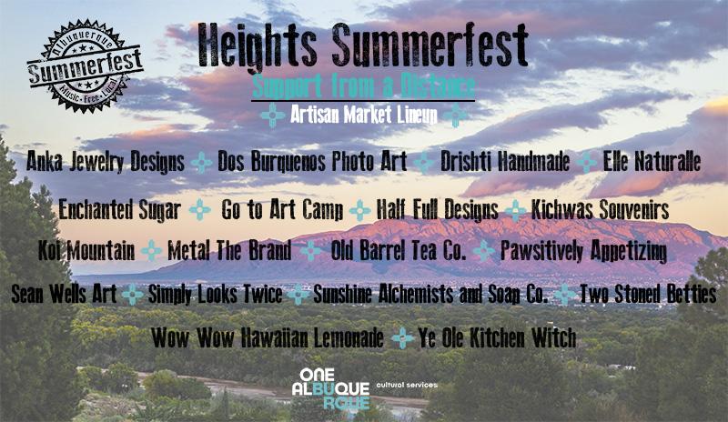 2020 Heights Summerfest - Artisan