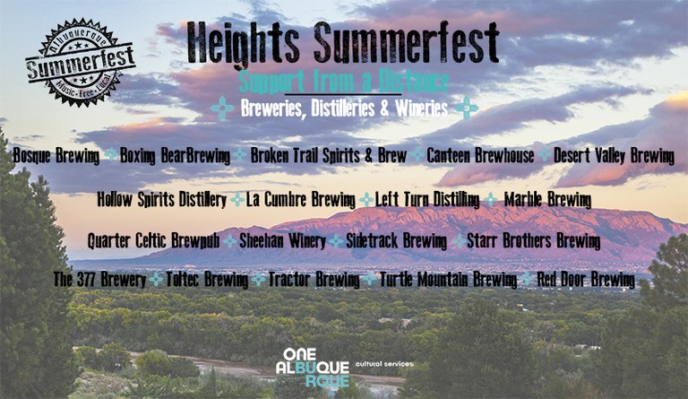 2020 Heights Summerfest - Breweries