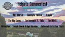 2020 Heights Summerfest - Bands