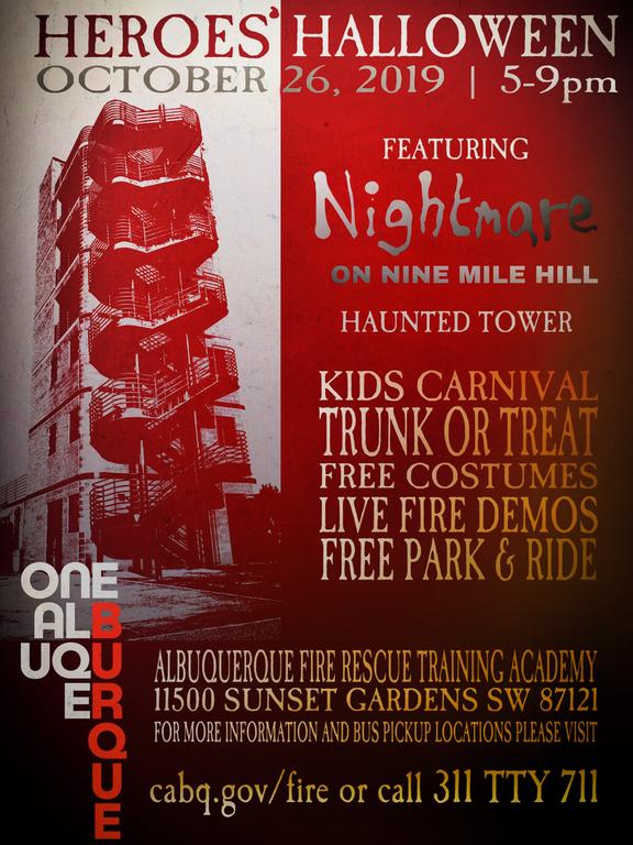 Heroes' Halloween - New Flyer