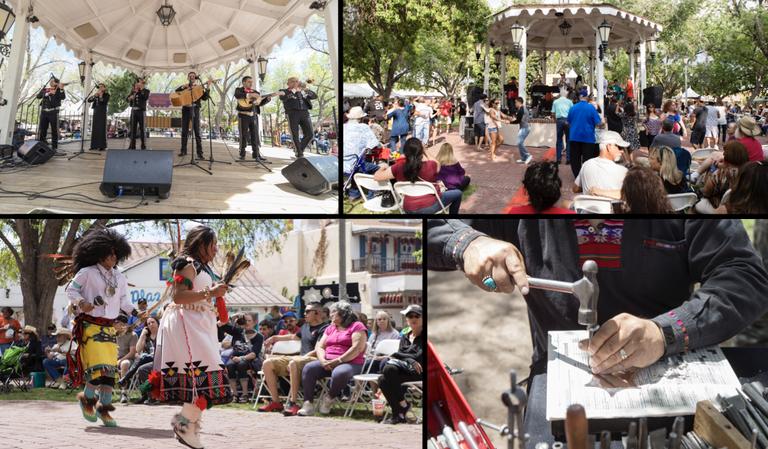 Fiestas de Albuquerque 2018 collage