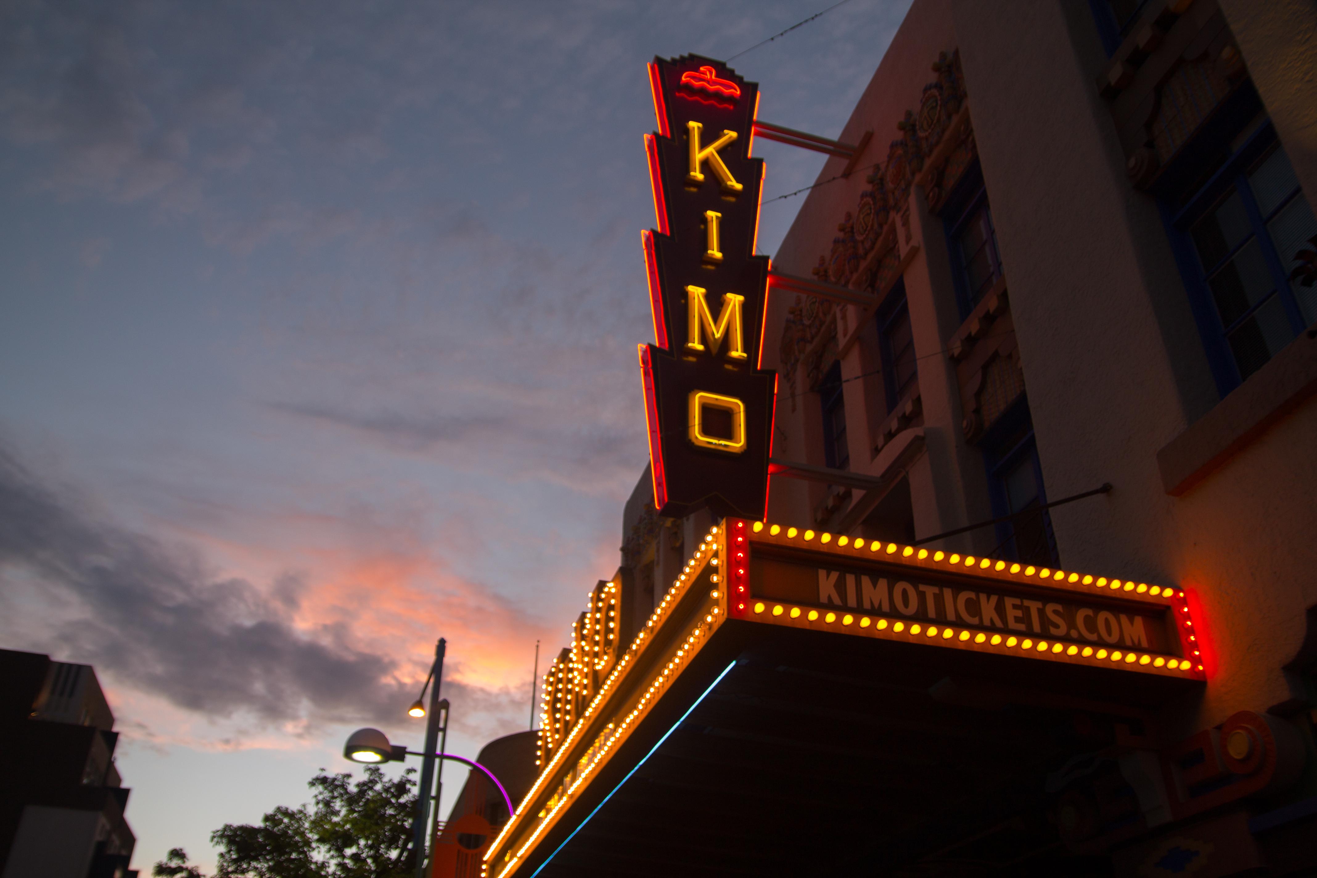 KiMo Theatre - neon sign